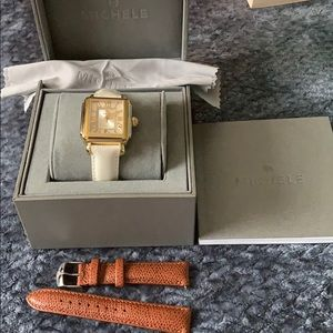 Michele Watch slightly used as new